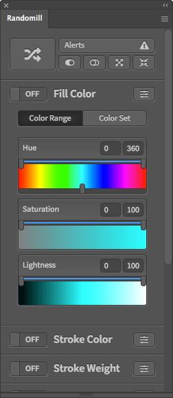 Illustrator Random Fill Color Script
