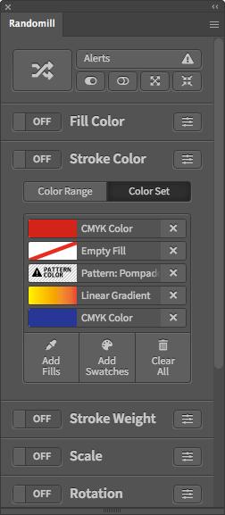 Illustrator Random Stroke Color Script